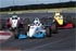 AcceleRace Motorsports leading through the Keyhole at F2000 Championship Series in October of 2011